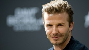 David Beckham is probably one of the best examples of what a sportsman should be