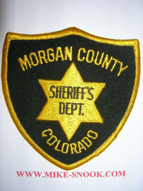 Mike Snook's Police Patch Collection - Colorado - Morgan ...