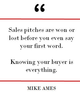 Sales Pitching