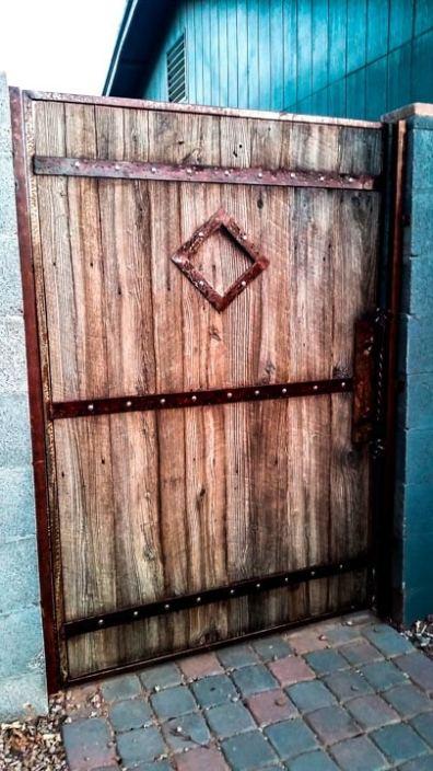 Custom Wood and Metal Art