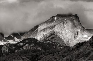 Cloudy Hallet Peak