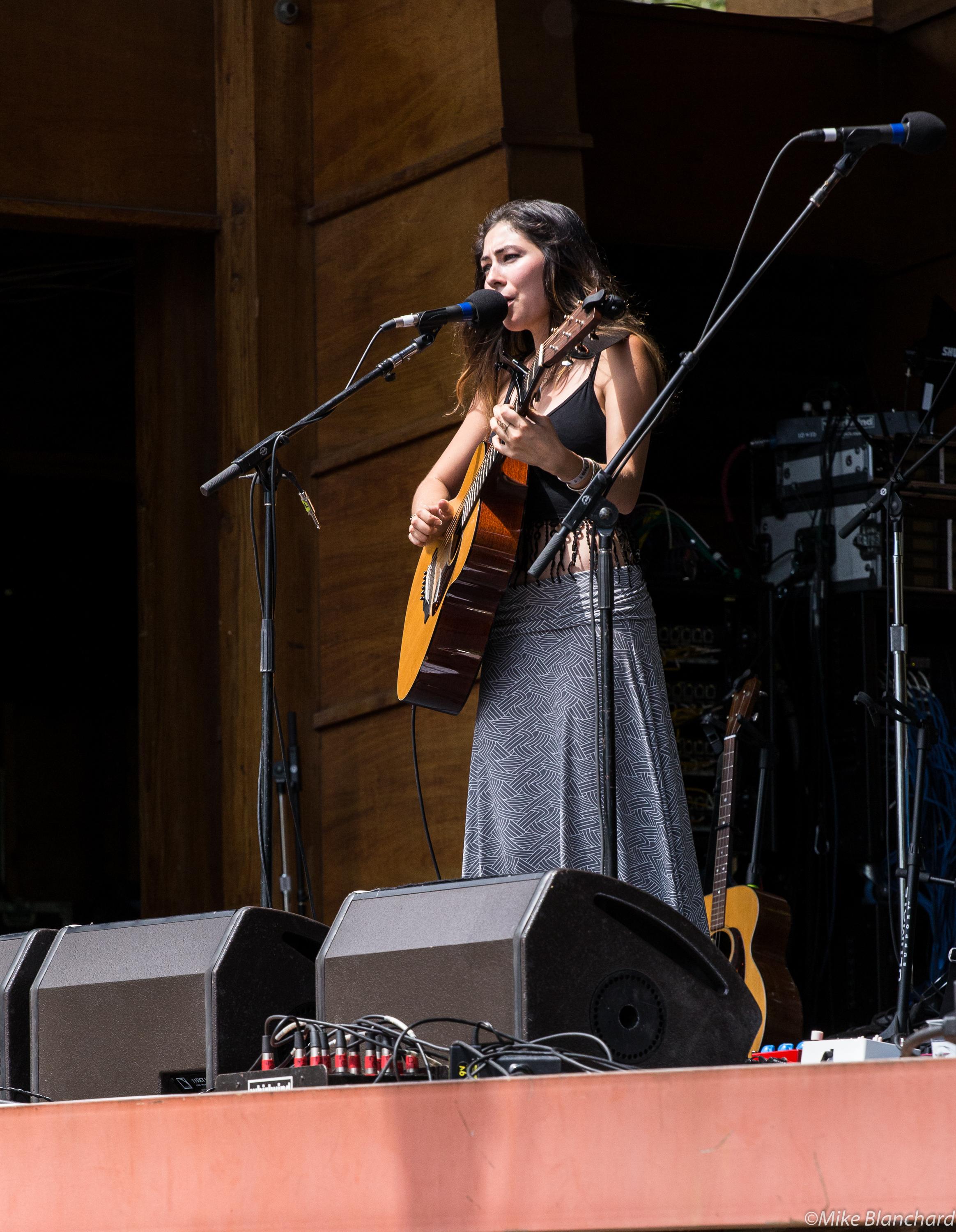 The beautiful and talented Heather Maloney at Rocky Mountain Folks Fest, 2015