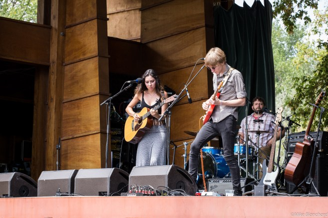 Heather Maloney and band at 2015 Rocky Mountain Folks Fest