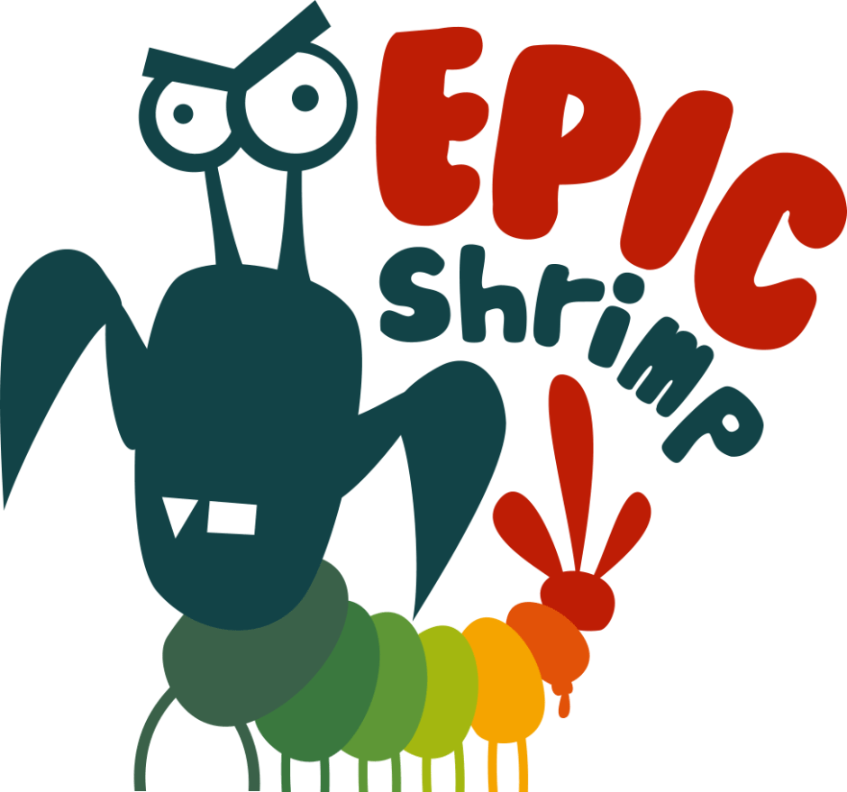 epic shrimp logo