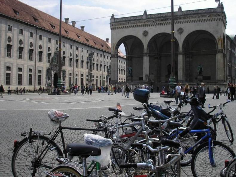Bicicletas en Munich