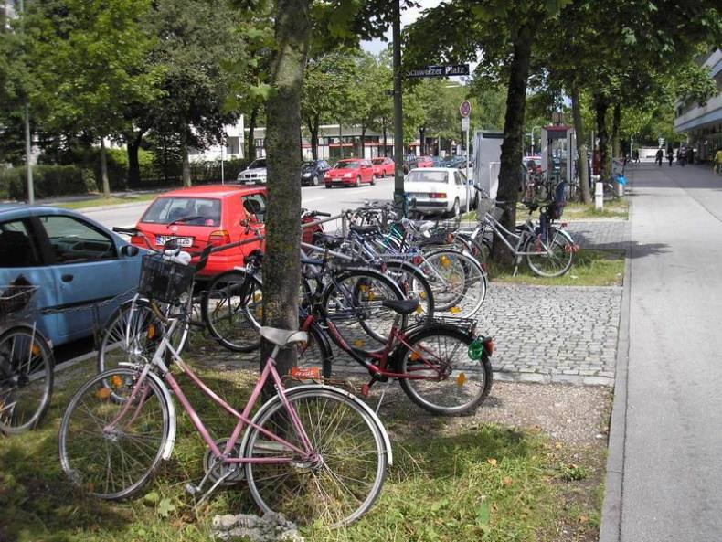 Bicis en Munich