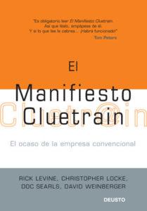 Portada libro El manifiesto Cluetrain