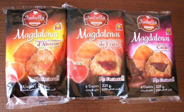 Envasado de magdalenas halal Isabella