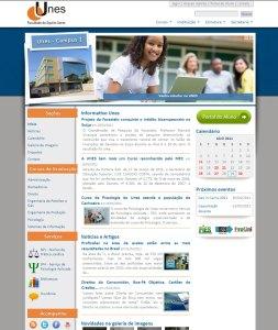 Ejemplo web hecha con Xoops