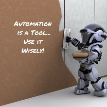 automation won't save you