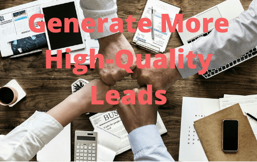 Generate More High Quality Leads - Mike D. O'Brien - Digital Marketing Consultant