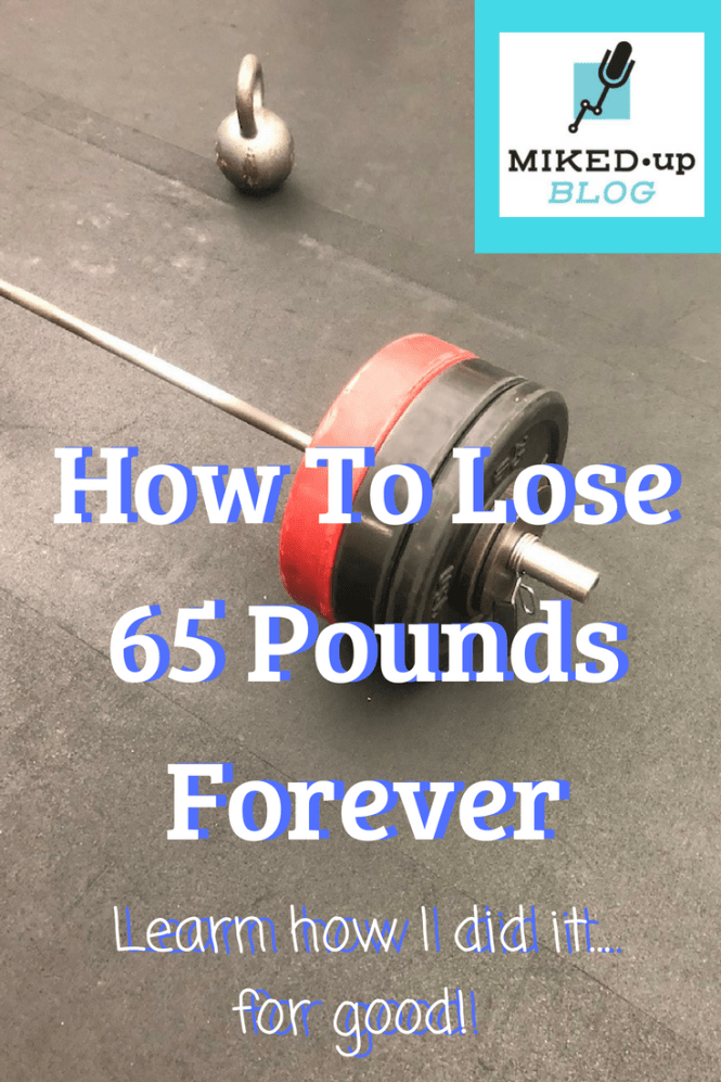 A Simple Way to Lose Weight - How I Lost 65 Pounds Forever! #workout #weightloss #fitness #calories #health
