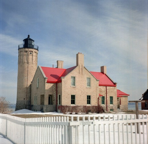The Michilimackinac light house.
