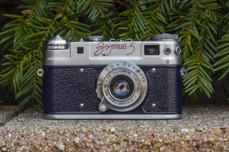 Offen Lomo Smena 8m Case 35mm Photo Film Camera Great Condition