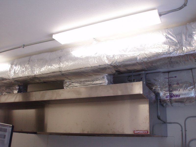 Exhaust Hood & Fan