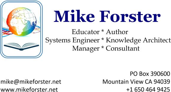 Forster Mike - Business Card - 2016 04 27 capture