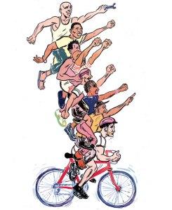 Globe and Mail Bike
