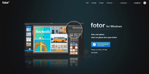 fotor for windows