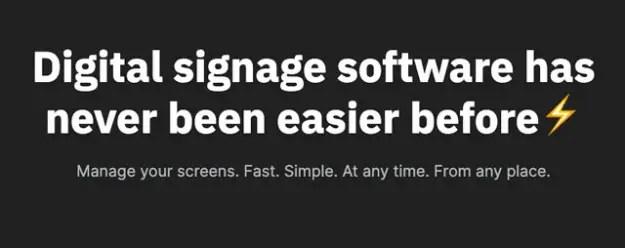 Digital Signage Made Easy with Look Digital Signage
