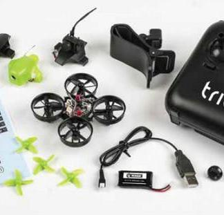 Rage RC Triad FPV 3-in-1 Pocket Drone With Accy components Image