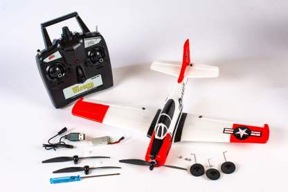 Rage T-28 Micro RTF Airplane Parts