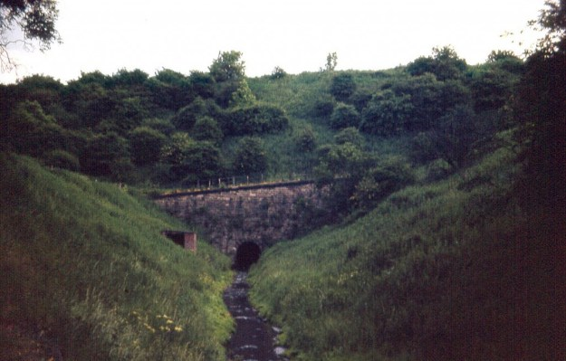 Cromford Canal, Butterley Tunnel west portal (1963)