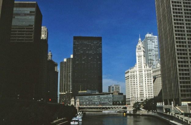 Michigan Avenue Bridge, Chicago