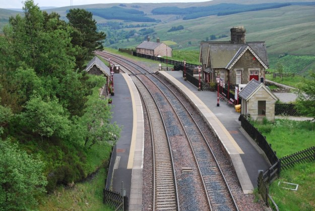 Dent Station, Settle & Carlisle Railway, Cumbria