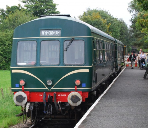 Wymondham Abbey Station, Mid-Norfolk Railway, Norfolk