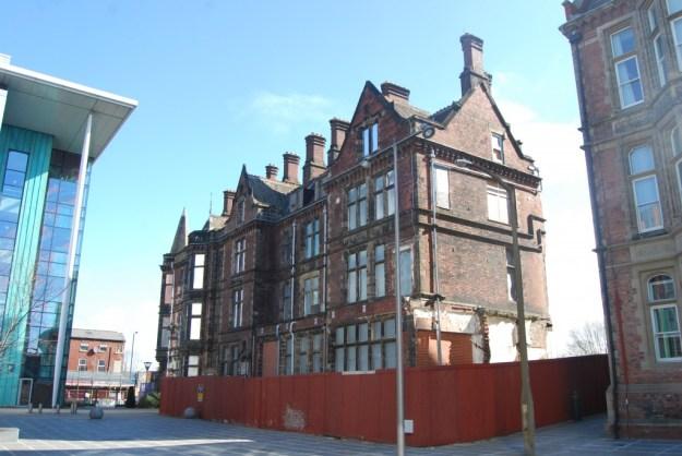 Jessop Hospital for Women, Sheffield:   Edwardian Wing (May 5th 2013)