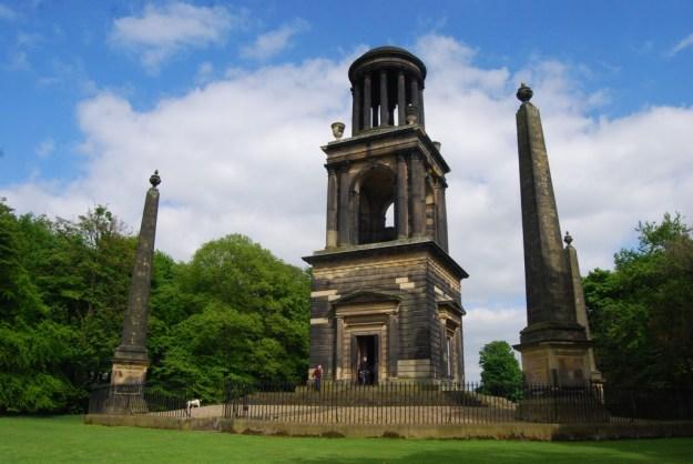 Wentworth Woodhouse Estate, South Yorkshire:  Rockingham Mausoleum