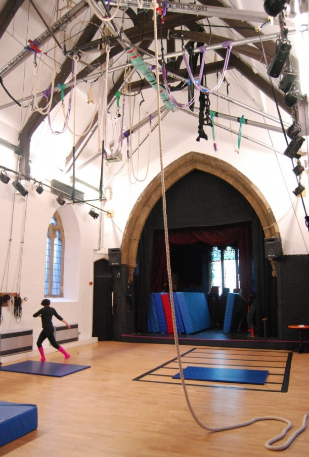 Former St Thomas' Church, Brightside, Sheffield, now Greentop Circus