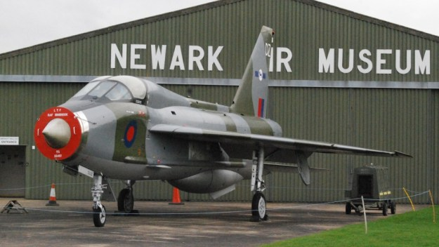 Newark Air Museum:  English Electric Lightning T5 XS417