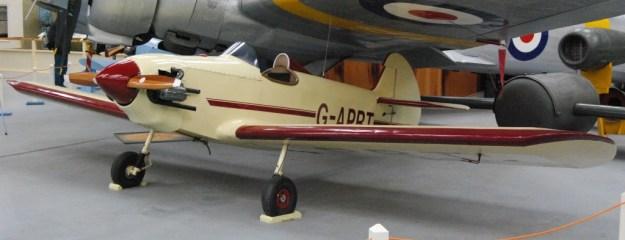 Newark Air Museum:  Taylor JT1 Monoplane G-APRT