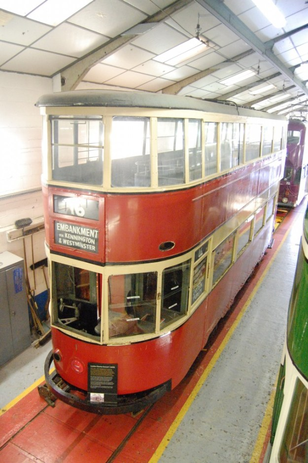 National Tramway Museum, Crich, Derbyshire:  London 1