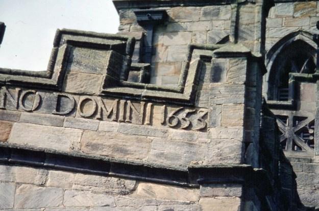 Staunton Harold Church, Leicestershire:  detail
