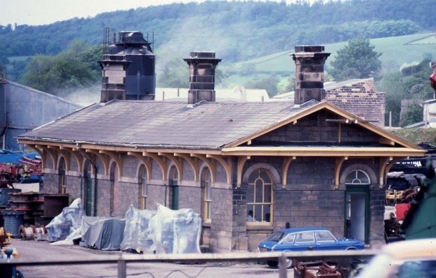 Rowsley Old Station, Derbyshire (1978)