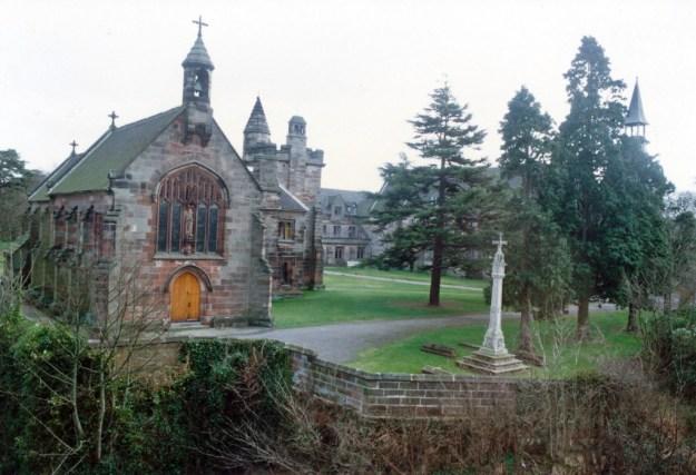 Parish church of St John the Baptist and Hospital, Alton, Staffordshire