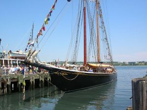 """Bluenose II"" by Wendy Schotsmans http://www.flickr.com/photos/wendyschotsmans - http://www.flickr.com/photos/wendyschotsmans/1396558185/sizes/o/. Licensed under CC BY 2.0 via Wikimedia Commons - https://commons.wikimedia.org/wiki/File:Bluenose_II.jpg#/media/File:Bluenose_II.jpg"