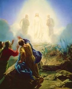 Carl Bloch's Transfiguration (Wikimedia)