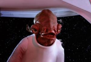 """It's a trap!"" -Admiral Ackbar in Star Wars Ep. VI: Return of the Jedi"