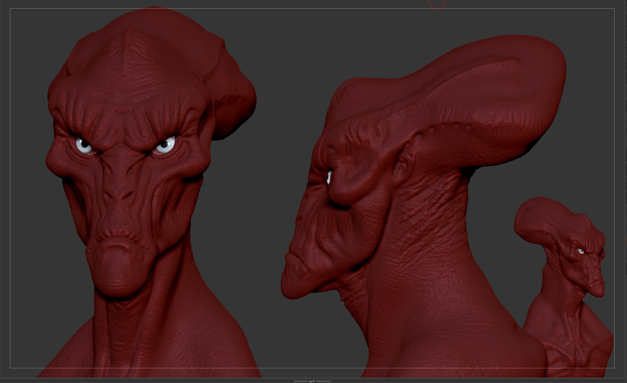 Alien Zbrush preview