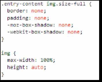 Extra CSS for Responsive Twenty Ten