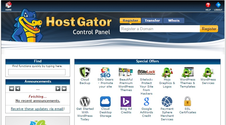 Install WordPress on Hostgator cPanel.