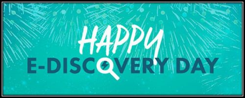 eDiscovery Day is Coming