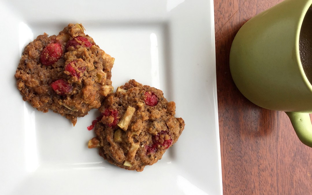 Gluten-Free Cranberry Apple Cookies: Egg-Free and Vegan Recipe