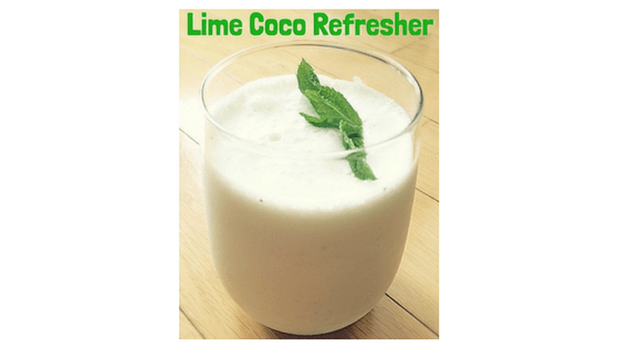Coconut Lime Refresher Recipe