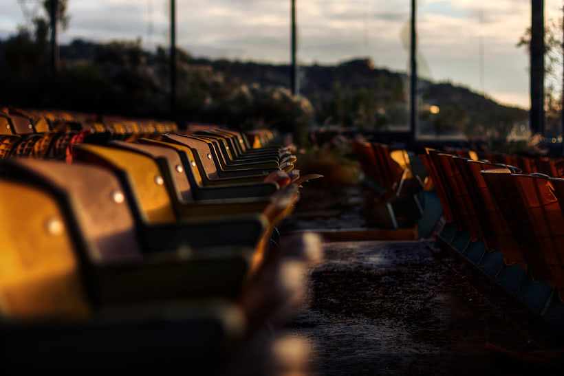 Dog Track Black Canyon City Chairs