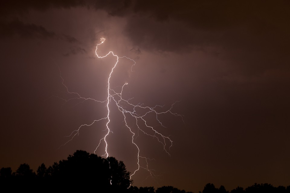 Lightning Photo in Memphis