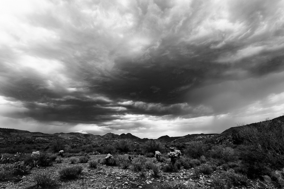 Storms on Table Mesa - Arizona Monsoon